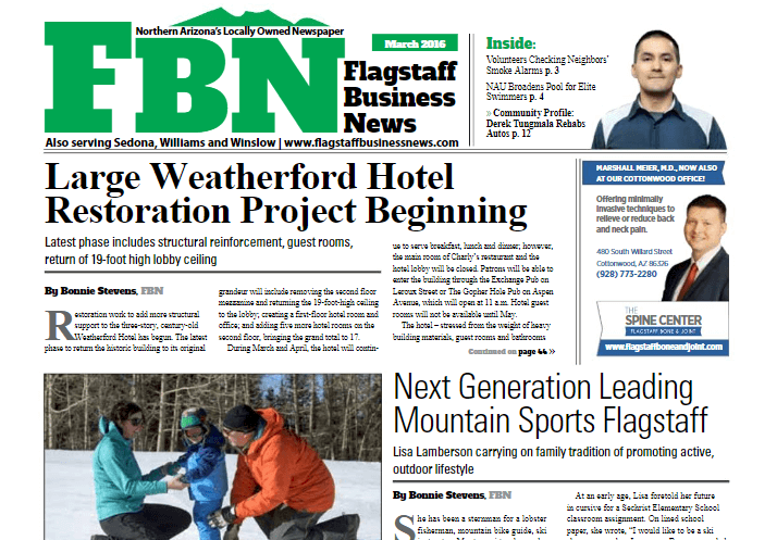 Arizona Newspapers 25 Flagstaff Business News