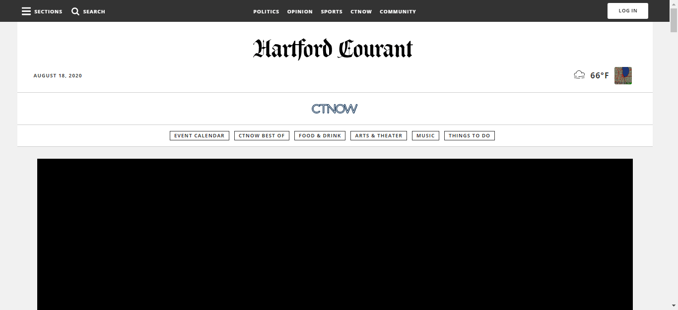 Connecticut Newspapers 02 Hartford CTNow website