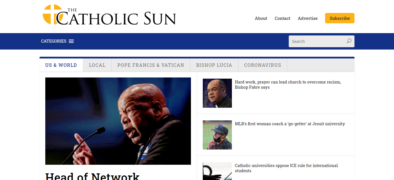 Phoenix Newspapers 11 The Catholic Sun website