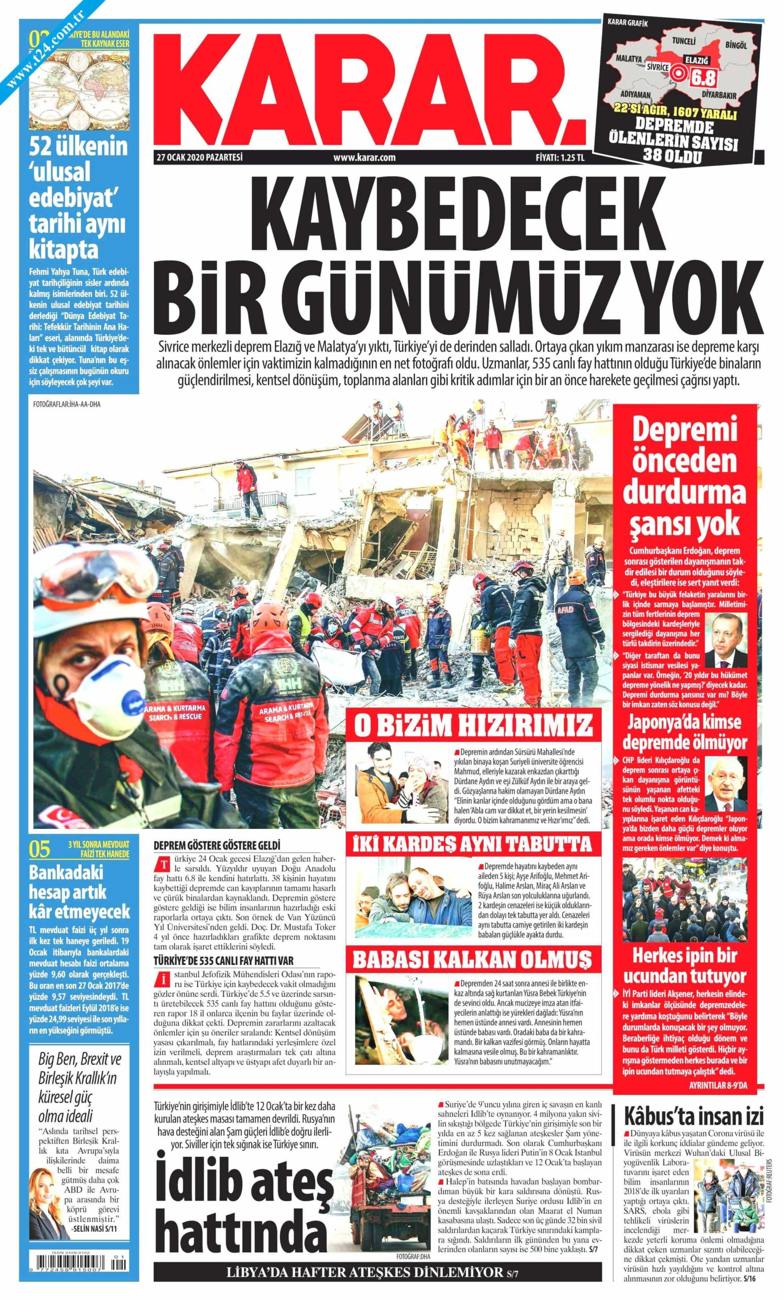Turkish Newspapers 19 Karar Haber scaled