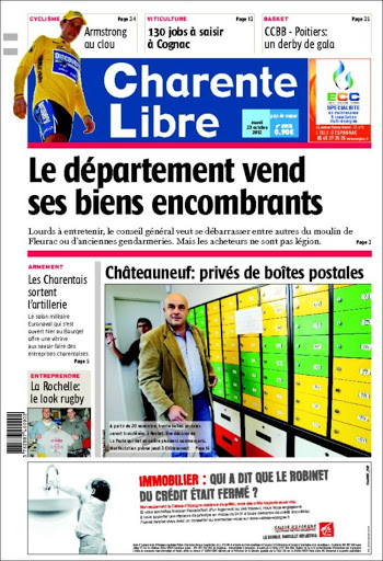 france newspapers 15 Charente Libre