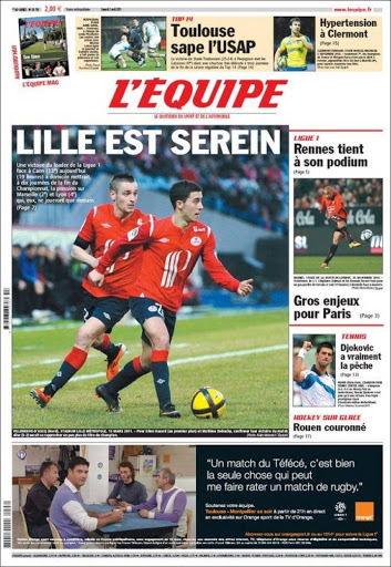 france newspapers 41 L'Equipe