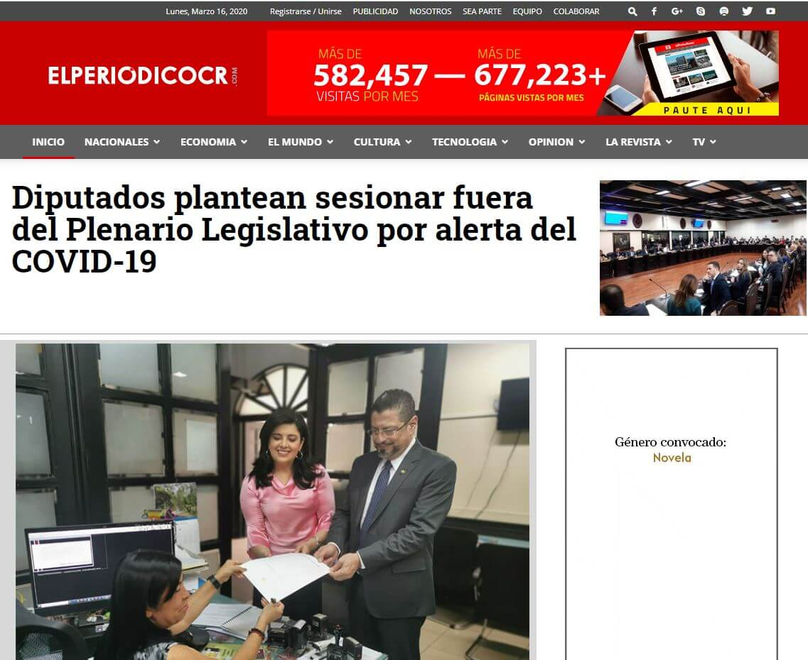 periodicos de costa rica 13 el periodico cr website