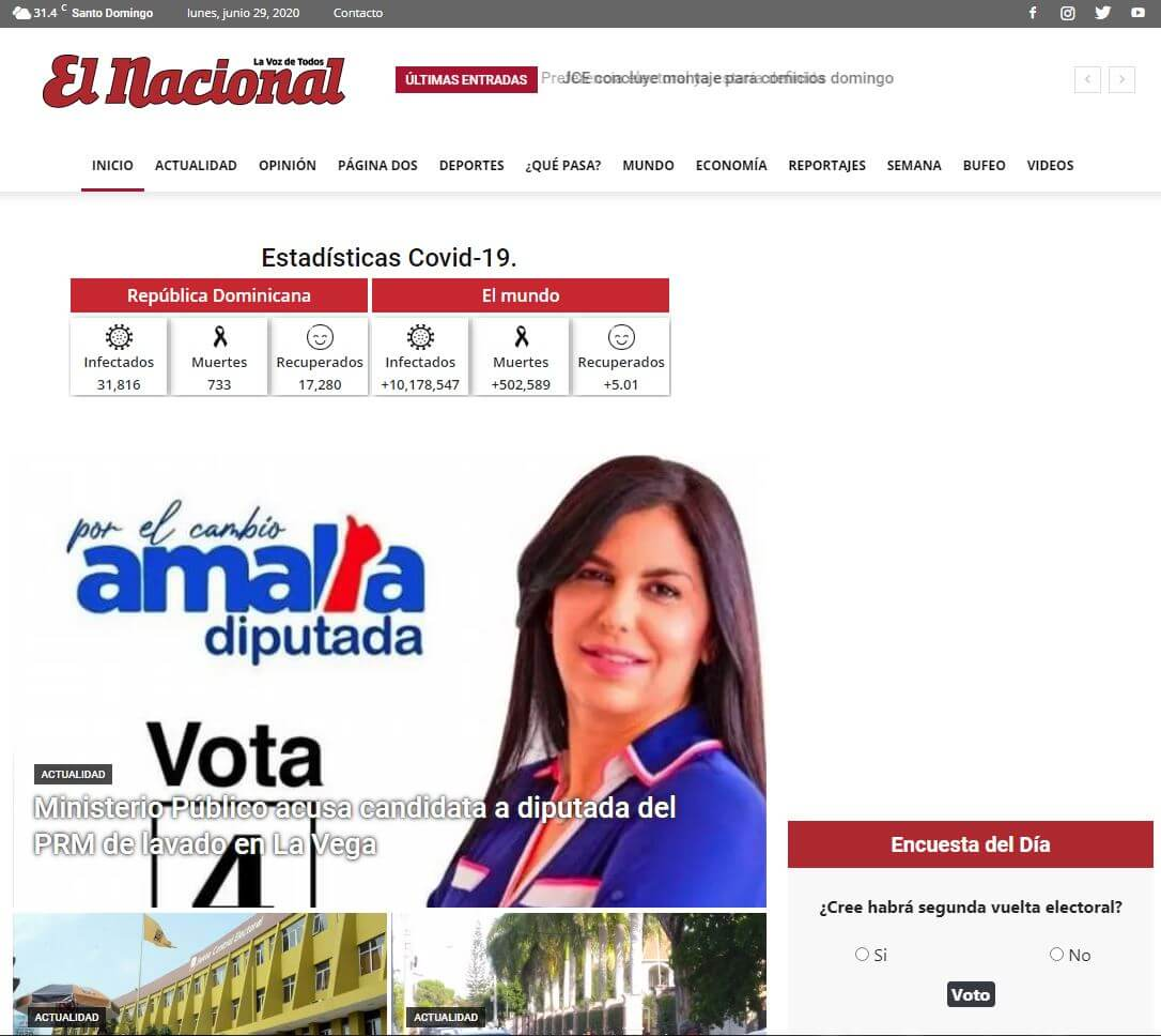 periodicos de republica dominicana 05 el nacional website
