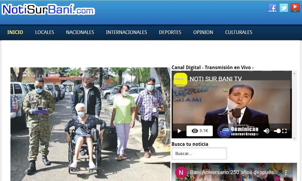periodicos de republica dominicana 26 notisur bani website