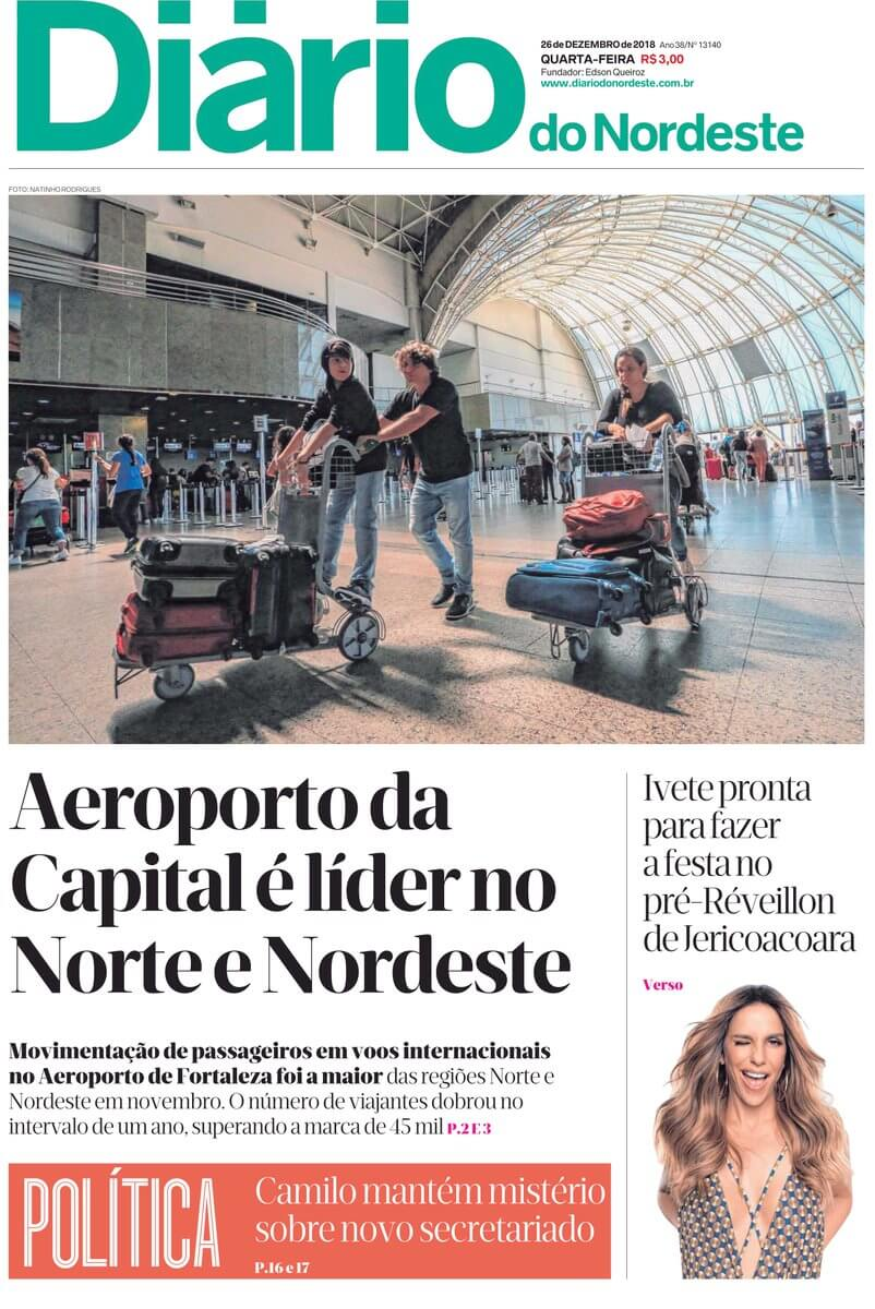 Brazil newspapers 33 Diario do Nordeste