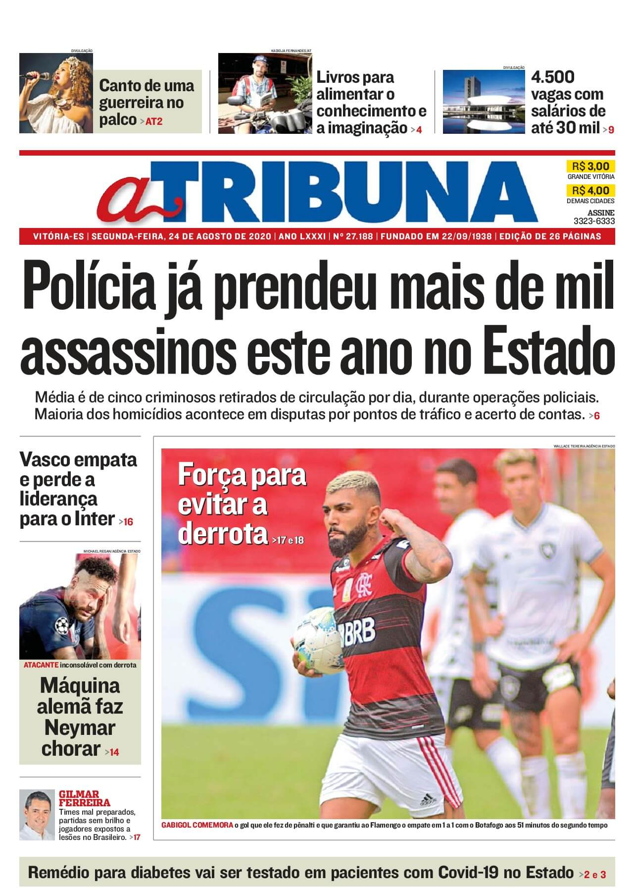 Brazil newspapers 35 ‎Tribuna do Parana