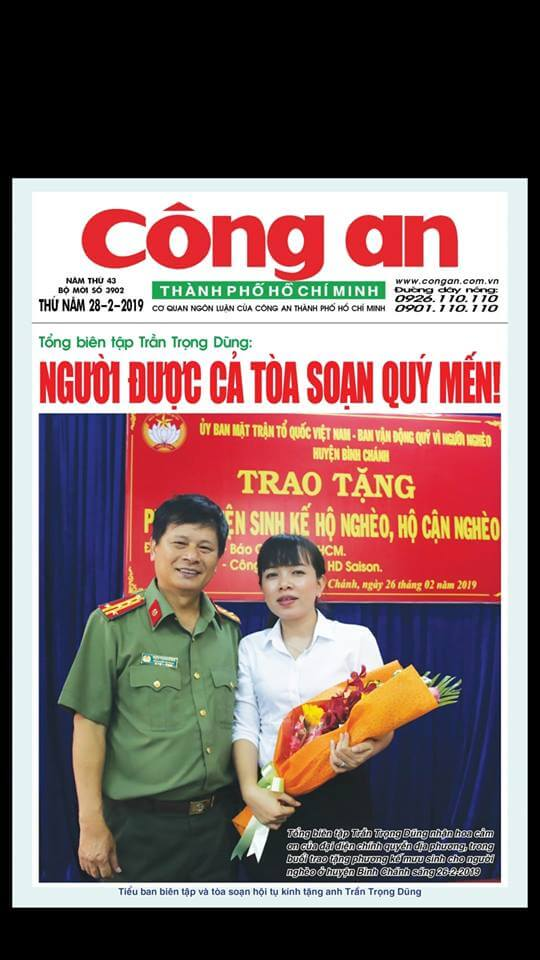 Vietnam Newspapers 41 Cong An Thanh Pho Ho Chi Minh