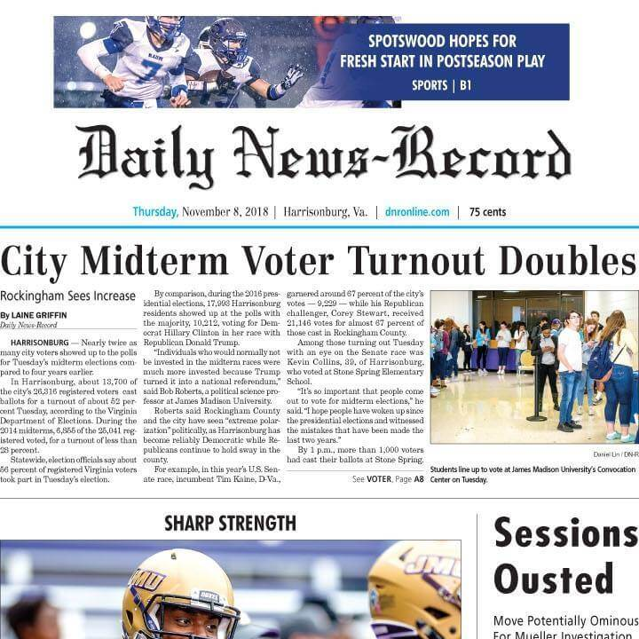 Virginia Newspapers 29 Daily News Record