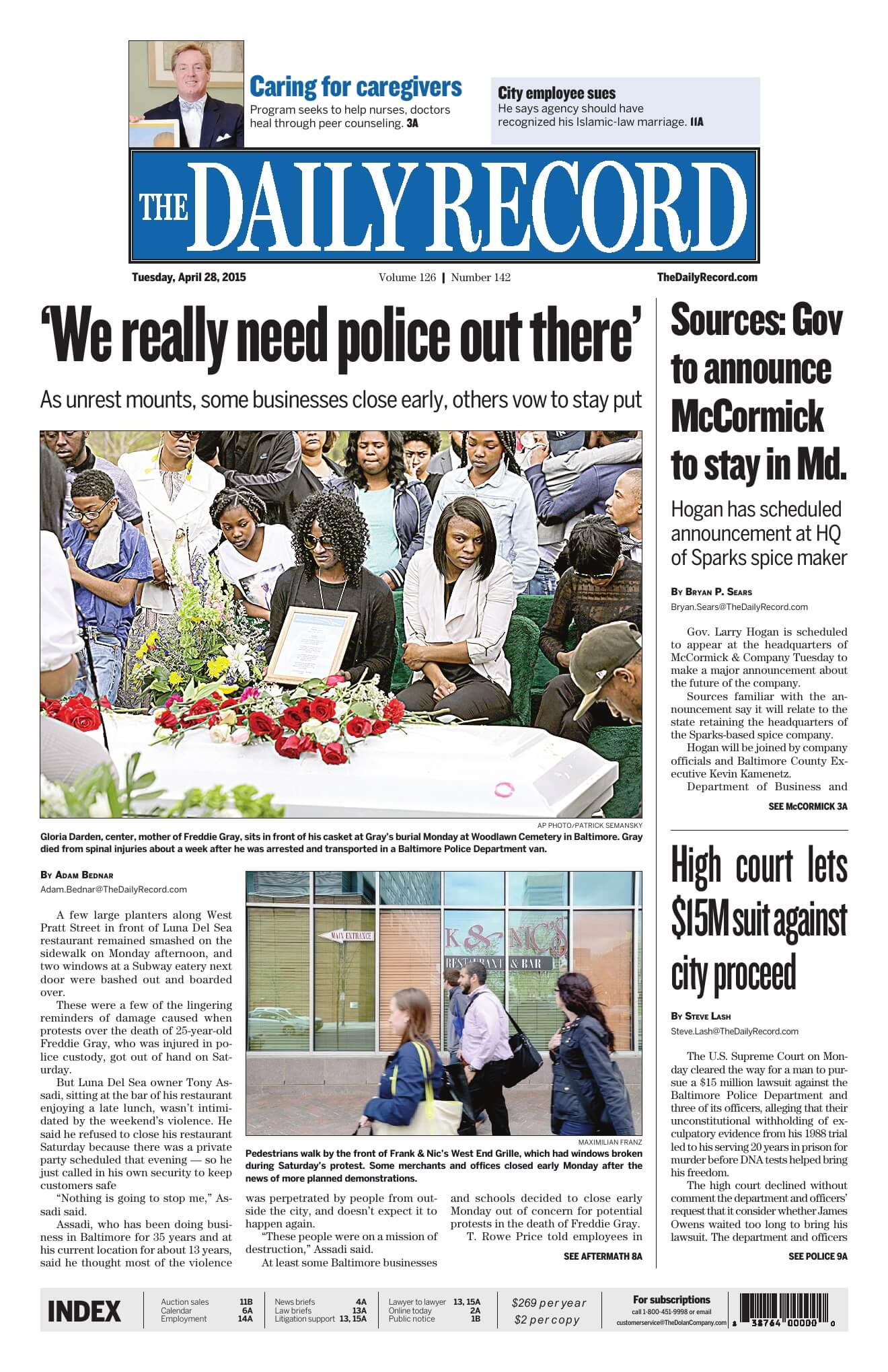Baltimore Newspapers 02 Daily Record