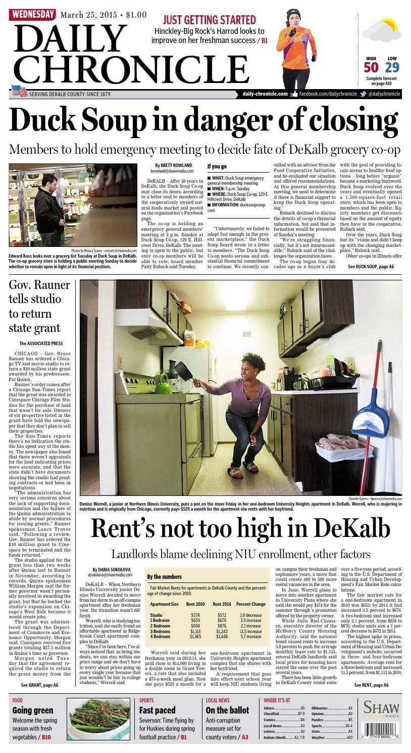 Illinois Newspapers 17 Daily Chronicle