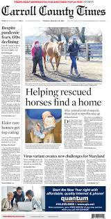 Maryland newspapers 02 Carroll county times