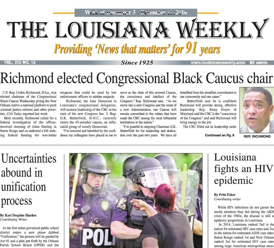New Orleans Newspapers 05 The Louisiana Weekly