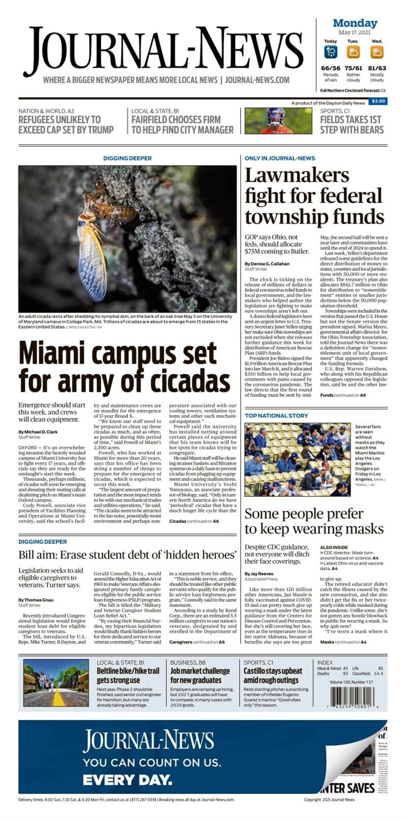 Ohio newspapers 9 Middletown Journal News